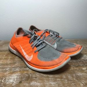 Nike Free Flyknit 4.0 Wolf Grey Hyper Shoes